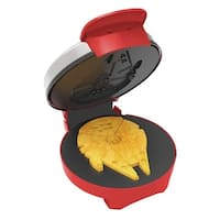 Star Wars Millennium Falcon Waffle Maker - 7.75 in. x 9.5 in. x 4.75 in.