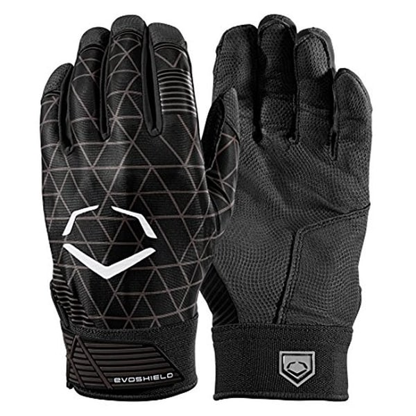 EvoShield Evocharge Protective Batting Gloves (Youth Small - Black). Opens flyout.