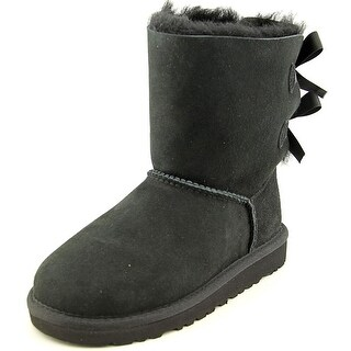 Ugg Australia Bailey Bow Youth Round Toe Suede Black Winter Boot|https://ak1.ostkcdn.com/images/products/is/images/direct/11fe80a67cfa2400c23137ce1a04bce8939728c2/Ugg-Australia-Bailey-Bow-Youth-Round-Toe-Suede-Black-Winter-Boot.jpg?_ostk_perf_=percv&impolicy=medium