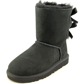 Ugg Australia Bailey Bow Youth Round Toe Suede Black Winter Boot|https://ak1.ostkcdn.com/images/products/is/images/direct/11fe80a67cfa2400c23137ce1a04bce8939728c2/Ugg-Australia-Bailey-Bow-Youth-Round-Toe-Suede-Black-Winter-Boot.jpg?impolicy=medium