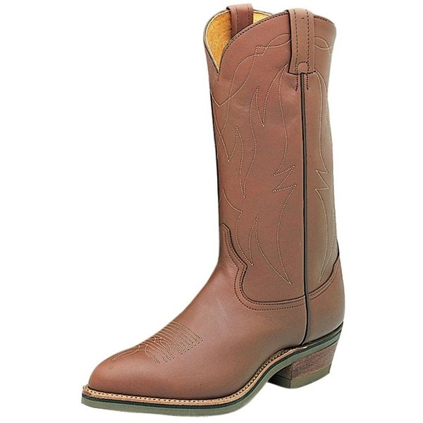 Tony Lama Western Boots Mens Cowboy Riding Heel Natural Retan 4013