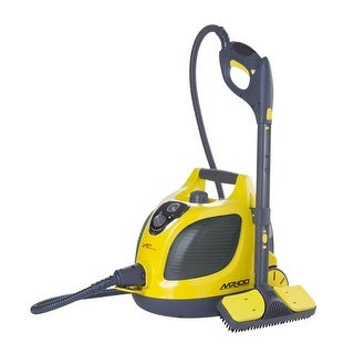 Vapamore MR-100 Primo Canister Steam Cleaner - yellow & gray