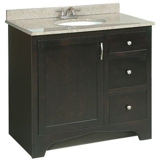 "Design House 541284 Ventura 36"" Wood Vanity Cabinet Only"