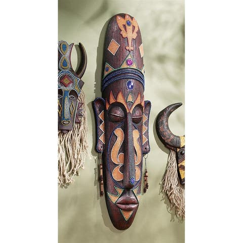 Design Toscano Grand Scale Tribal Wall Mask