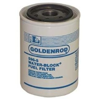 Goldenrod 596-5 Replacement Water-Block Fuel Filter