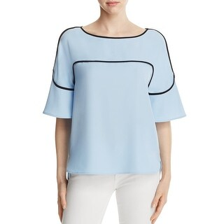 Calvin Klein Womens Blouse Piping Hi-Low (More options available)