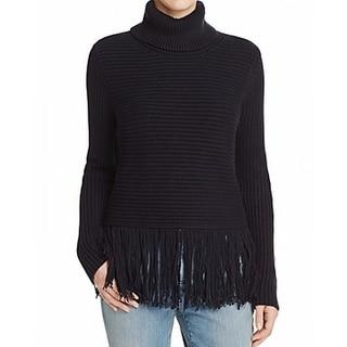 MICHAEL Michael Kors NEW Blue Womens Size Medium M Turtleneck Sweater
