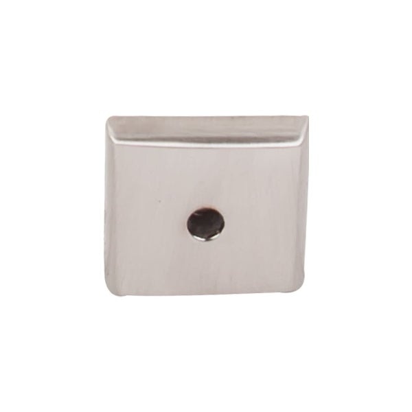 Top Knobs M2017 Aspen II Series 7/8 Inch Square Cabinet Knob Backplate