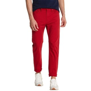 Levi's 510 Skinny Fit Red 2-Way Comfort Stretch Jeans