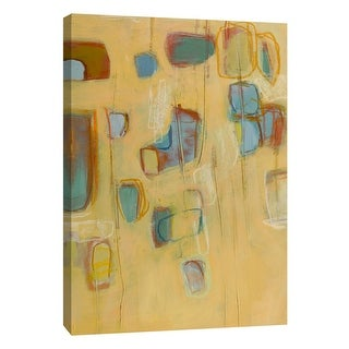 """PTM Images 9-105422  PTM Canvas Collection 10"""" x 8"""" - """"Block Party 4"""" Giclee Abstract Art Print on Canvas"""