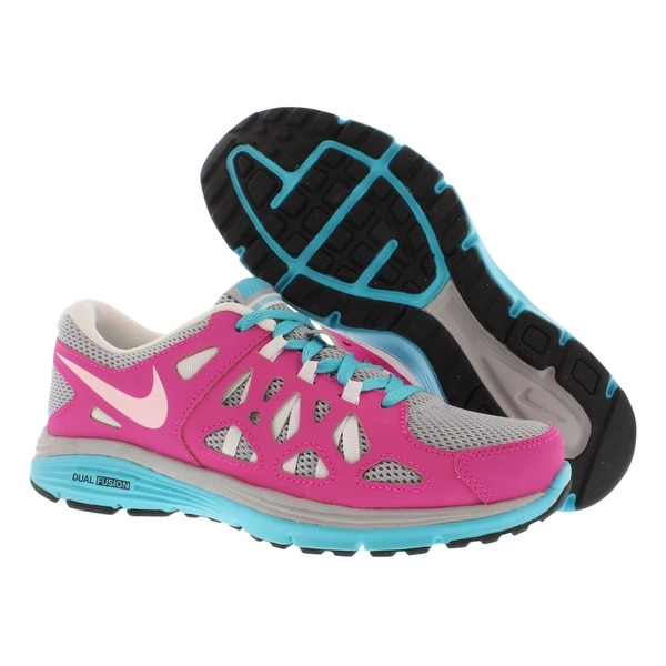 714af01329 Shop Nike Dual Fusion Run 2 Gradeschool Kid's Shoes - 5 m - Free ...