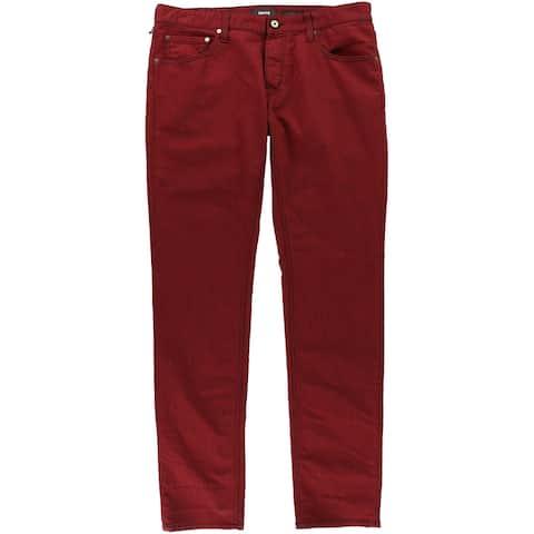 Just Cavalli Mens Contrast Stitching Slim Fit Jeans