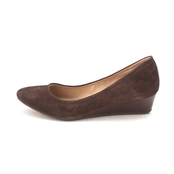 Cole Haan Womens Tali Luxe Wedge Closed Toe Wedge Pumps - 6