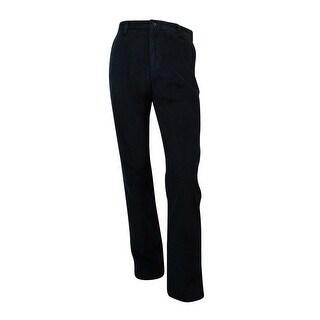 Nautica Men's Corduroy Deck Pants (34X30, True Black) - True Black - 34X30