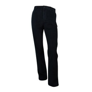 Nautica Men's Corduroy Deck Pants (34X34, True Black) - True Black - 34X34
