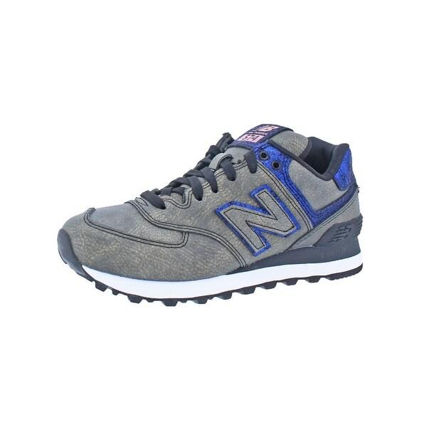 New Balance Womens 574 Mineral Glow Running Shoes Printed Training - 5.5 medium (b,m)