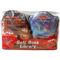 Disney Soft Book Library 2 Pack Cars 2 - multi