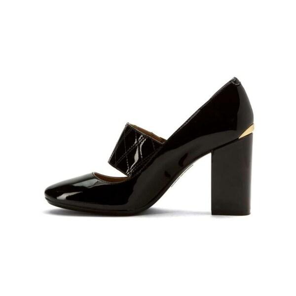 Calvin Klein Womens CASILLA Closed Toe Mary Jane Pumps