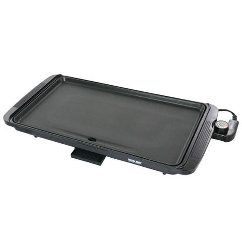 Better Chef Family Size Electric Counter Top Grill/Griddle