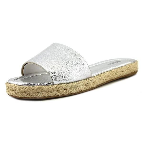 bb484800032 Shop Michael Michael Kors Dempsey Slide Women Open-Toe Leather ...