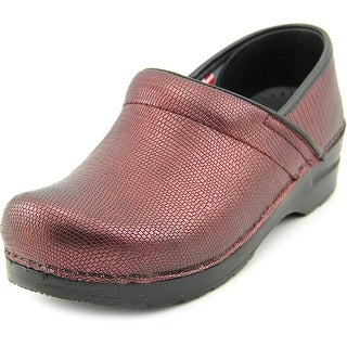 Sanita Prof Dream Round Toe Patent Leather Clogs