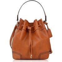 Drawstring Handbag Bucket Bag Leather Crossbody Bag Original Design Shoulder Bag Handbag for women