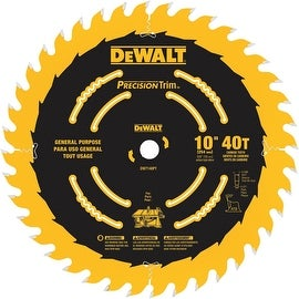"DeWalt 10"" 40T Coated Blade"