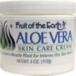 Fruit of the Earth Aloe Vera Cream 4 oz