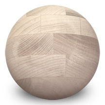 "20 Pcs of 5"" Maple Balls - Stain Grade"