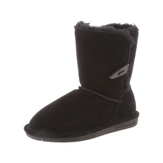 Bearpaw Boots Girl Abigail Suede Comfortable Stylish Toggle