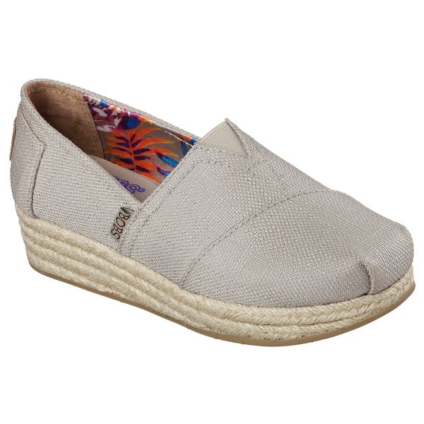 685af6f0bd3 Shop BOBS from Skechers Women's Highlights High Jinx Wedge, Taupe ...