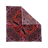 Unique Handmade Cotton Tribal Face Bandana Scarf 22 x 22 inches - Medium