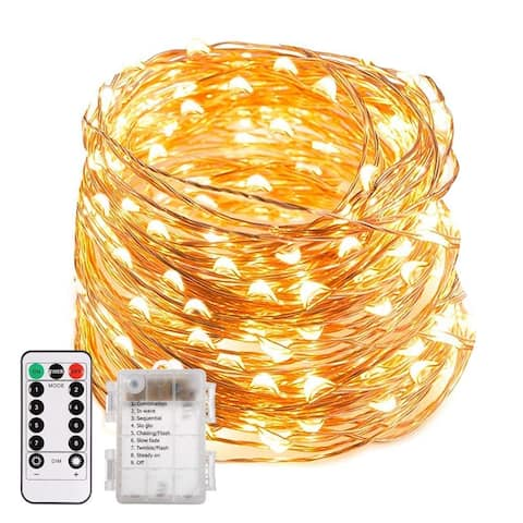 66ft 200 LED Waterproof Starry Fairy Lights - Medium