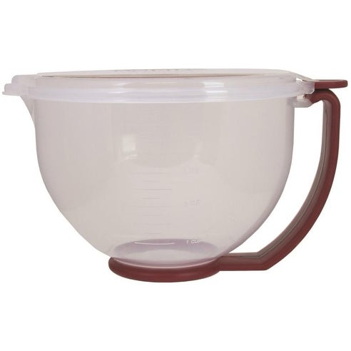 Oneida 53827 Batter Bowl With Lid, 10 Cup