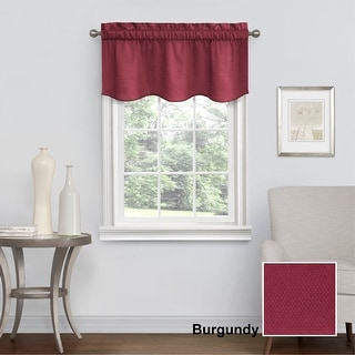 Eclipse Canova Room-Darkening Window Valance