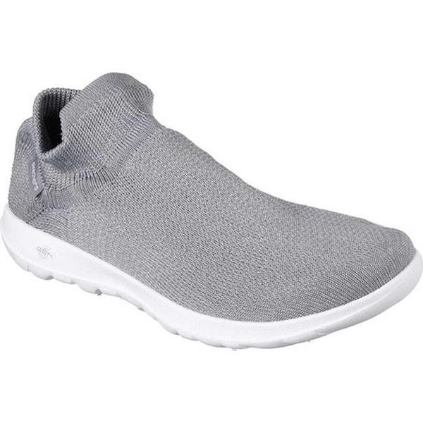 b5a2703972e7 Shop Skechers Women's GOwalk Lite Breakout Slip-On Sneaker Gray ...