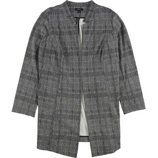 Link to Alfani Womens Plaid Topper Jacket Similar Items in Women's Outerwear