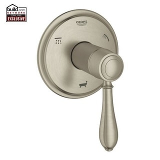 Grohe 19 955 Fairborn 3-Function Diverter Trim Only with SilkMove? - Less Rough-In Valve