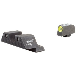 Trijicon HD Night Sight Set with Yellow Front Outline for the Glock 42/43