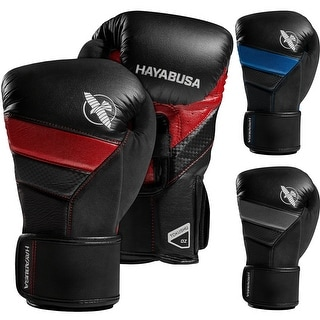 Hayabusa T3 Dual-X Hook and Loop Closure Vylar Leather Training Boxing Gloves