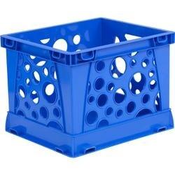 """Blue - Micro Crate 6.75""""X5.8""""X4.8"""" 1/Pkg"""