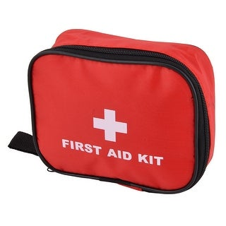 Family Travel Oxford Cloth First Responder Aid Rescue Survival Storage Bag Red