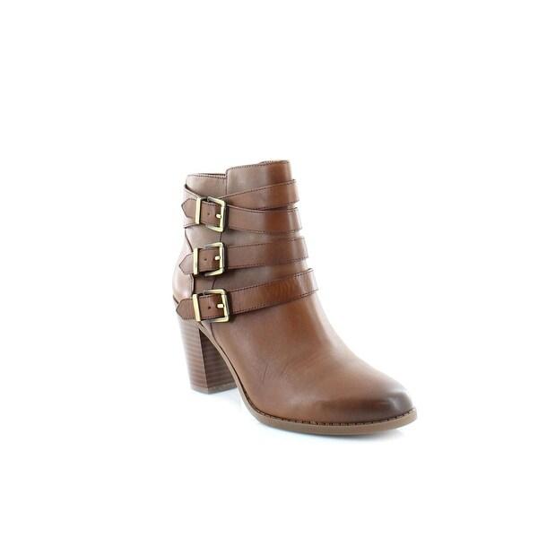 INC Laini Women's Boots Cognac - 7.5
