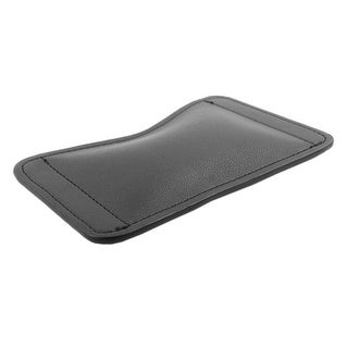 Notebook Computer PU Leather Mousepad Support Cushion Mouse Wrist Rest Pad Black