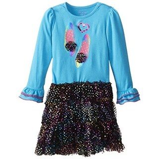 Nannette Girls Embellished Casual Dress