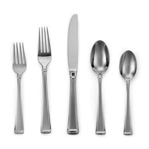 Gorham 6017164 Column Frosted Flatware Pierced Tablespoon