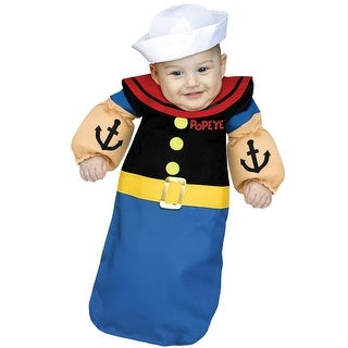 Fun World Popeye Bunting Infant Costume - Blue