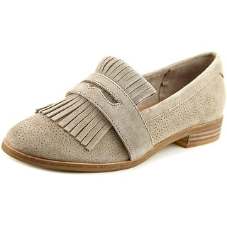 Seychelles Stray   Round Toe Suede  Loafer