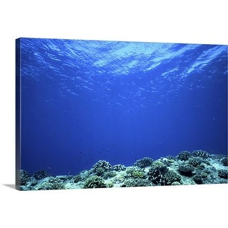 """Life under water"" Canvas Wall Art"