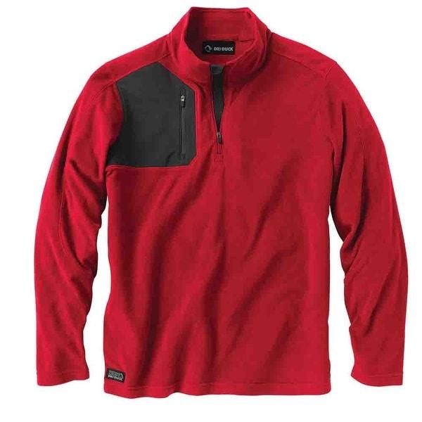 Dri Duck Mens Interval Fleece Pullover Casual Outerwear